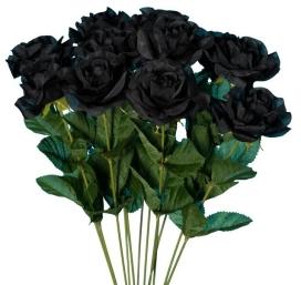 gothic-black-roses